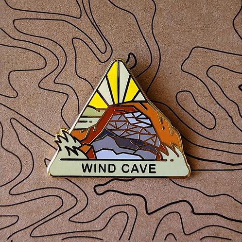 Wind Cave National Park Hard Enamel Pin