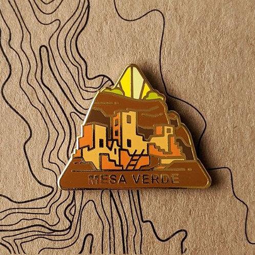 Mesa Verde National Park Hard Enamel Pin