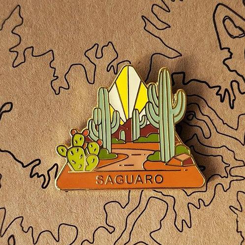Saguaro National Park Hard Enamel Pin