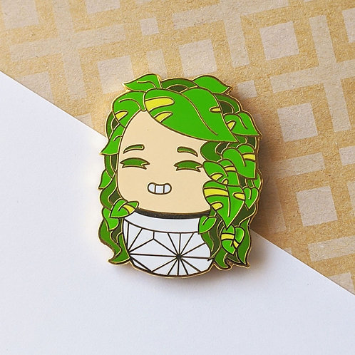 Pothos Plant Daughter Pin