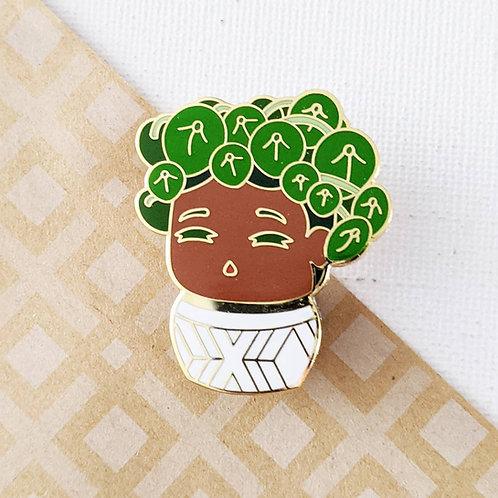 Pilea Plant Daughter Pin