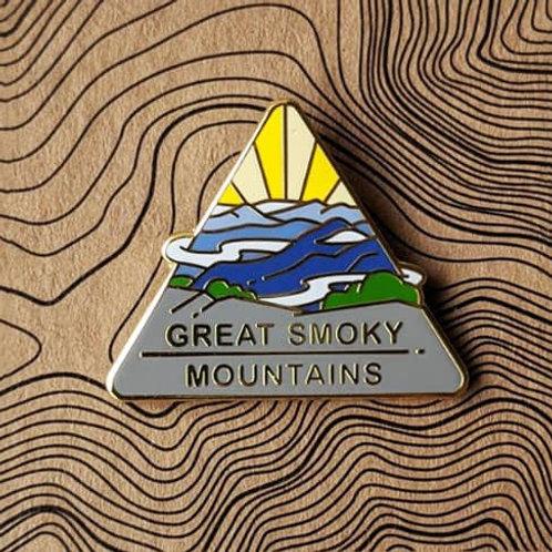 Great Smoky Mountains National Park Hard Enamel Pin
