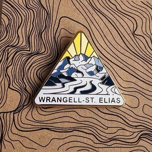 Wrangell-St. Elias National Park Hard Enamel Pin