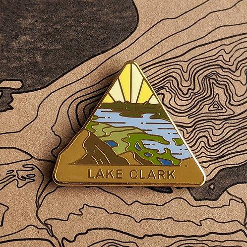 Lake Clark National Park Hard Enamel Pin