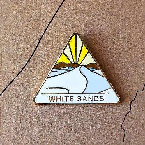 White Sands National Park Hard Enamel Pin