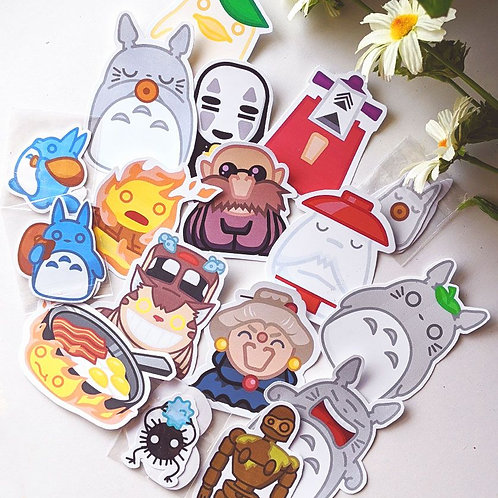 Ghibli Stickers