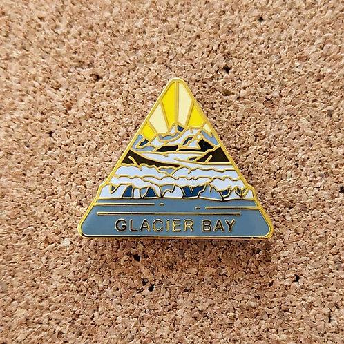 Glacier Bay National Park Hard Enamel Pin