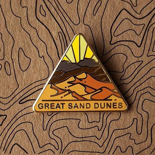 Great Sand Dunes National Park Hard Enamel Pin