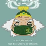 Bumi Wears a Mask!