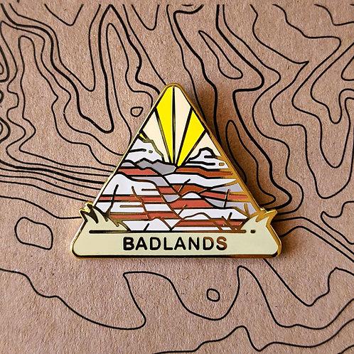 Badlands National Park Hard Enamel Pin