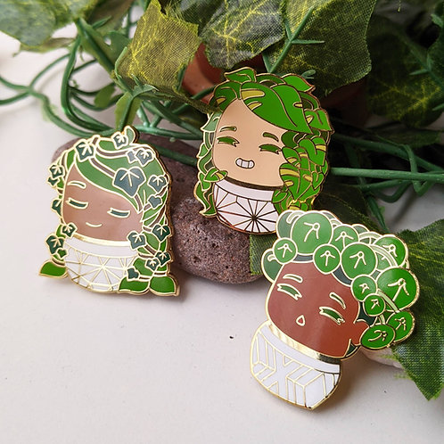 Plant Daughters Pins Set