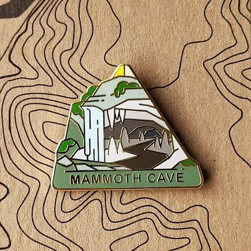 Mammoth Cave National Park Hard Enamel Pin
