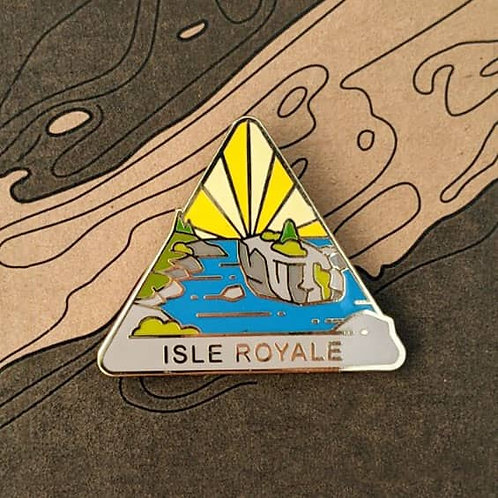 Isle Royale National Park Hard Enamel Pin