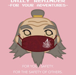 Iroh Wears a Mask!