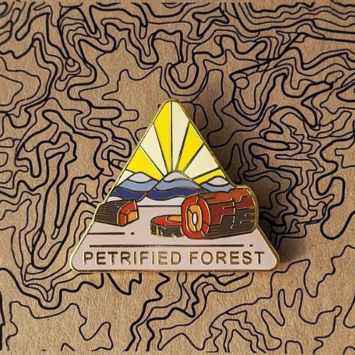 Petrified Forest National Park Hard Enamel Pin