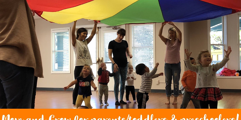 Move & Grow for Toddlers/Preschoolers FREE DEMO class