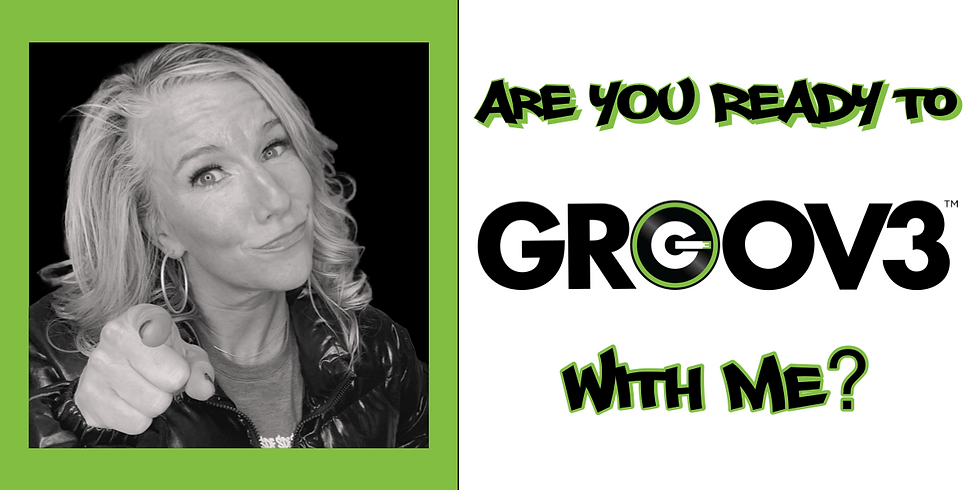 DANCE, SWEAT, and LIVE with Jess and GROOV3!