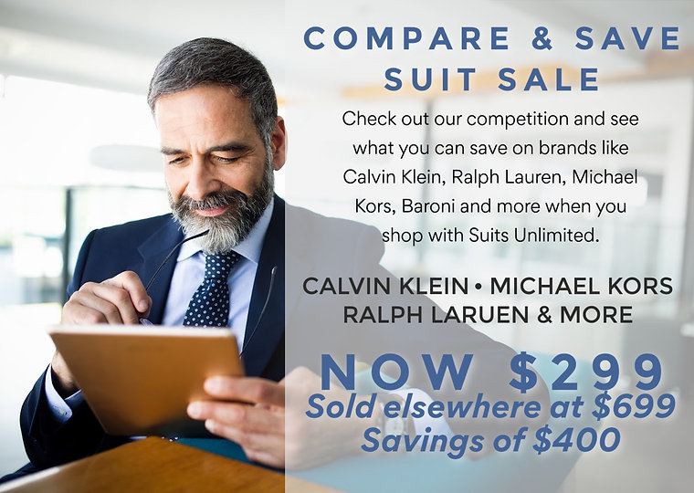Suits Unlimited Compare and Save Suit Sa