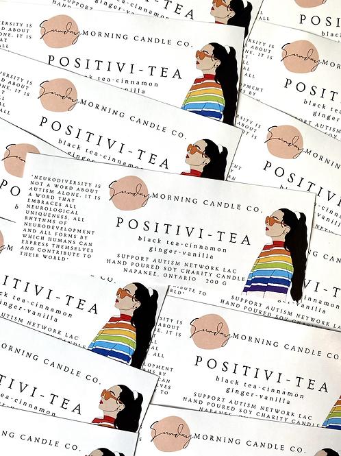 POSITIVI-TEA Candle - Autism Network LAC