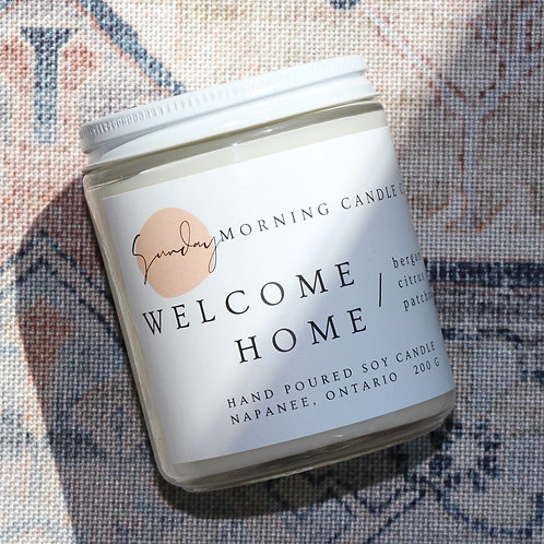 Welcome Home Soy Candle