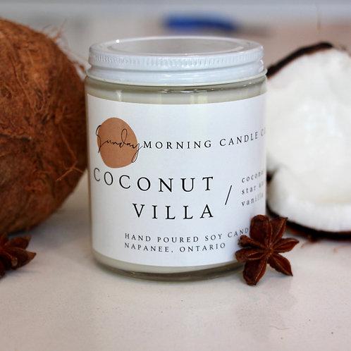Coconut Villa 8 Oz. Soy Candle