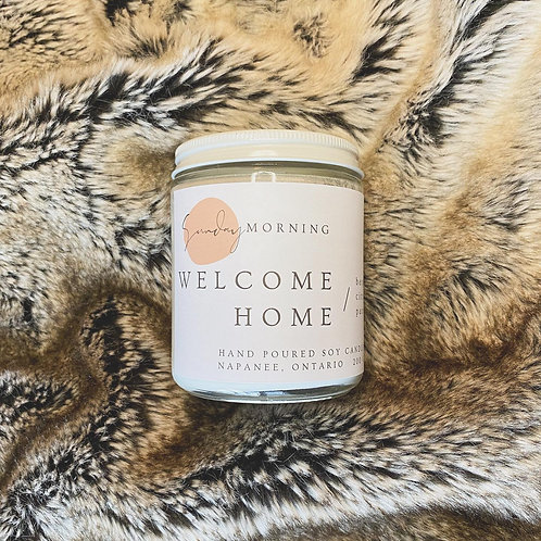 Welcome Home 8 Oz. Soy Candle