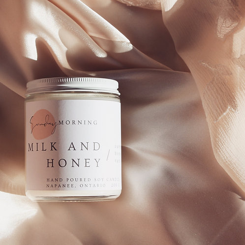Milk and Honey Soy Candle