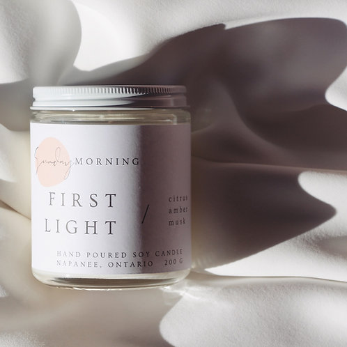 First Light Soy Candle