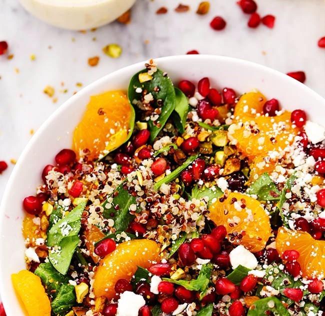 Spinach Amaranth Salad