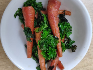 Baby Carrot and Kale in A2 Ghee