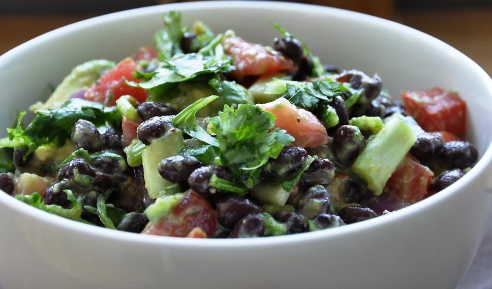 Avocado & Bean Salad