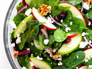Baby Spinach & Vinaigrette Salad