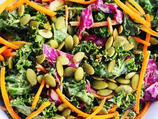 Kale Slaw Salad (Anti Inflammatory)