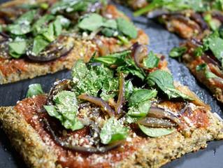 Cauliflower Pizza (V) (GF)