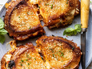 Sourdough & Kimchi Grilled Cheese