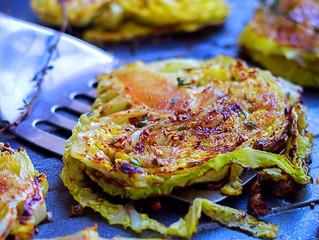 Honey Roasted Cabbage