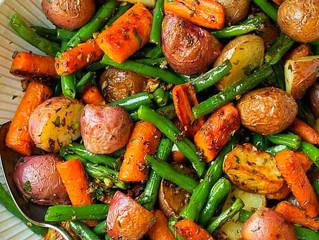 Christmas Veggie Roast