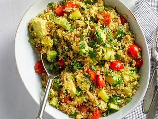 Avocado, Quinoa & Pear Salad