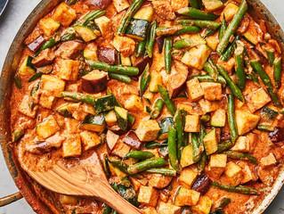 Paneer & Monsoon Veggie Curry
