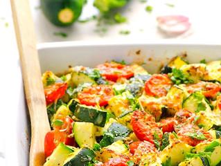 Zucchini Parmesan Bake
