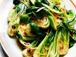 Ginger Garlic Pok Choi Stir-Fry