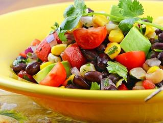 Sweet Corn & Mango Salad