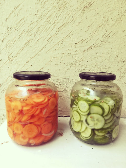 Pickled Cucumbers / Carrots