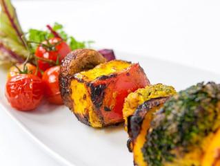 Harissa Vegetable Shashlik