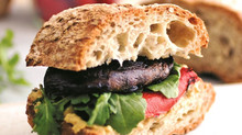 Portobello & Sourdough Burger