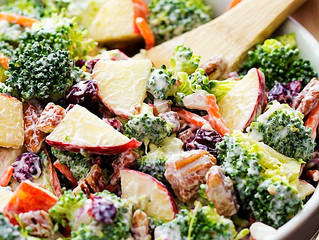 Creamy Broccoli & Apple Salad