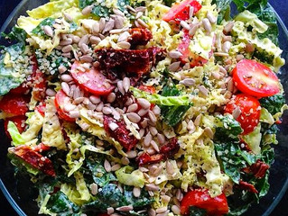 Creamy Kale & Savoy Salad