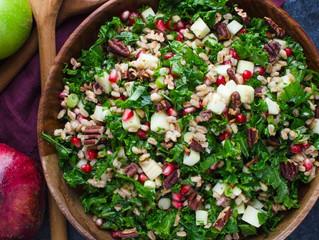 Monsoon Fruit & Greens Salad