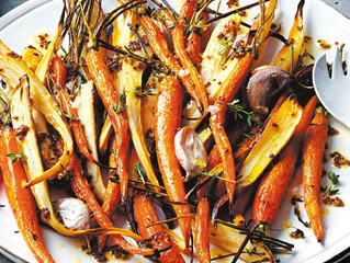Honey Herb Roasted Roots