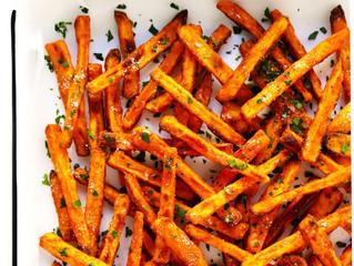 Sweet Potato Fries (V) (GF)